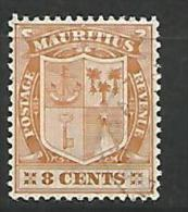 MAURICE   N� 136 OBL  TTB