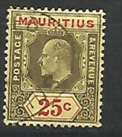 MAURICE   N� 140 OBL  TTB