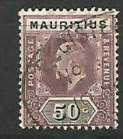 MAURICE   N� 141 OBL  TTB