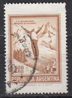 Argentina, 1970/73 - 1p Ski Jumper - Nr.938 Usato° - Argentina
