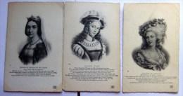 3 Cpa  Jeanne De France/jeanne D,arc/ Princesse De Lamballe - Histoire