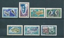 Monaco Timbres De 1962  N°591 A 597  Timbres Neuf ** - Nuovi