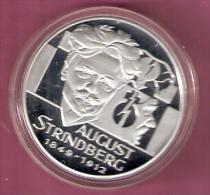 FINLAND 20 ECU 1996 AUGUST STRINDBERG SILVER PROOF - Finlande