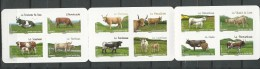France: 953/ 964 En Carnet **  Les Vaches De Nos Régions - Vaches