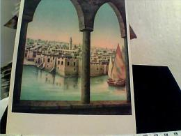 LIBIA LIBYA TRIPOLI ILLUSTRATA DANDOLO BELLINI Il CASTELLO N1950 ES14766 - Libia