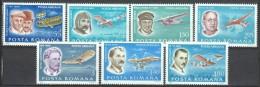 Romania 1978 Mi 3563-69  MNH - Zeppelins