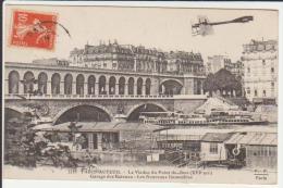 - 75 CPA Paris Auteuil Le Viaduc Du Point Du Jour - Garage Des Bateaux - Nouveaux Immeubles - Bridges