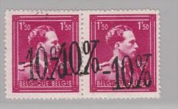 Nr 724N (2) **, Met Dubbele Opdruk (X15961) - 1946 -10%