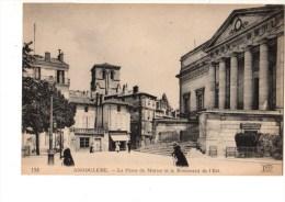 C P A----16---ANGOULEME----la Place Du Murier Et Le Boulevard De L´est----voir 2 Scans - Angouleme