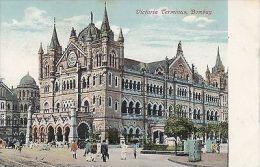 INDIA - BOMBAY, VICTORIA TERMINUS - India