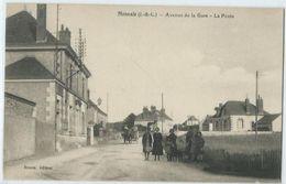 Monnaie Avenue De La Gare La Poste - Monnaie