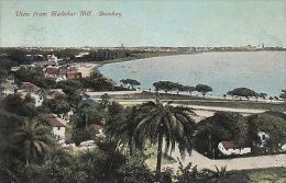 INDIA - BOMBAY, VIEW FROM MATABAR HILL - India
