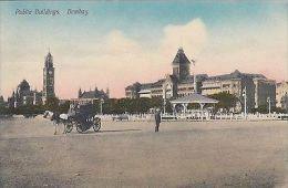 INDIA - BOMBAY, PUBLIC BUILDINGS - India