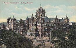 INDIA - BOMBAY, VICTORIA TERMINUS G.I.P. RAILWAY - India