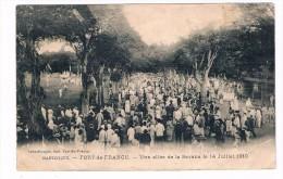 Cpa -- UNE  ALLEE  DE LA  SAVANE   LE  14  JUILLET  1910------------- -0115 - Fort De France