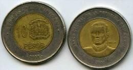 République Dominicaine Dominican Republic 10 Pesos 2008 KM 106 - Dominicaine