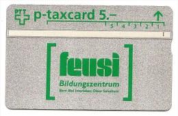 Switzerland / Suisse - L&G - Private card- Feusi - 525L07036