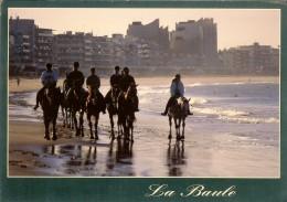 Ed Jos - La Baule,  Equitation Matinale Plage Baule-pornichet - Timbre Et Flamme  Verso 1997 - La Baule-Escoublac