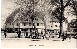 S320/COL - CPA COLMAR - La Sinne Très Animée Avec Lavandières - Colmar