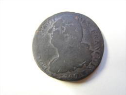 MD. Mo. 16. Louis XVI. 2 Sols. 1792. W