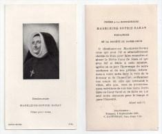 Image Pieuse Bienheureuse Madeleine-Sophie Barat, Joigny, Paris, Société Du Sacré-Coeur De Jésus - Images Religieuses