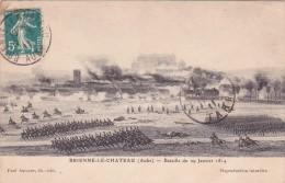 CPA 10 @ BRIENNE Le Château @ Bataille Du 29 Janvier 1814 - Victoire De L'armée De Napoléon Ier Sur Les Troupes Prussien - France