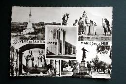 13 BOUCHES DU RHONE SOUVENIR DES SAINTES MARIES DE LA MER MULTIVUES DENTELEE - Saintes Maries De La Mer