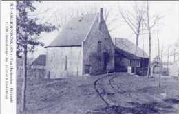 GROBBENDONK (Antw.) - Molen/moulin - Blauwe prentkaart Ons Molenheem van de nog bestaande watermolen Van Hool op de Aa