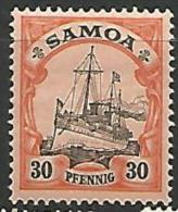 SAMOA   N�  47  NEUF* TTB /  TRACE DE CHARNIERE