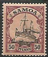 SAMOA   N�  49  NEUF* TTB /  TRACE DE CHARNIERE