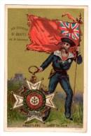 Chromo Militaire Angleterre - Kaufmanns- Und Zigarettenbilder