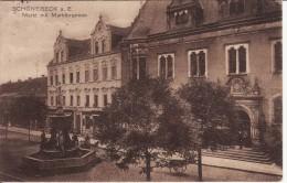 SCHOENEBECK-SCHÖNEBECK/ELBE (Allemagne) Markt Mit Marktbrunnen-Stempel Reserve Lazarett Militaire 1916- 2 SCANS - - Schoenebeck (Elbe)