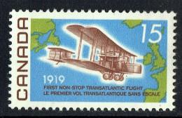 1969  Alcock-Brown  First Non-Stop Transatlantic Flight 50th Ann.. Sc 494  MNH - Neufs