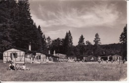 Carte Postale Photo SCHOENEBECK-SCHÖNEBECK/ELBE (Allemagne) Colonie De Vacances Le Camp Avec Habitations  VOIR 2 SCANS - - Schoenebeck (Elbe)