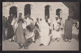 TCHAD NDJEMENA FORT LAMY  musiciens carte photo