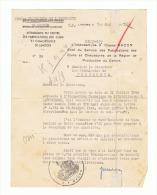Guerre 40/45 - Lettre à Entête Des Forces Françaises De L'Intérieur - Limoges 01/09/1944 (fr18) - Documents