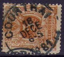 28 Courtrai - 1869-1888 Lion Couché