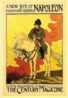Affiches 5/4 En Cartes Postales Modernes Eugène Grasser Napoleon Cheval Affiche PCM - Advertising