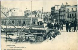 CARTAGENA   Capitania Del Puerto  ( 1ª Tirada  Circulada ) -136 - Murcia