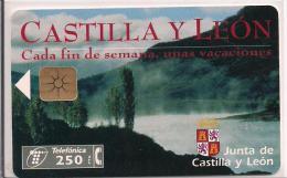TARJETA CASTILLA Y LEON TIRADA 5000