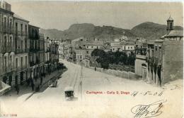 CARTAGENA    Calle S. Diego  ( 1ª Tirada  Circulada ) -148 - Murcia