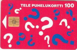 FINLAND - 020202, Sonera telecard, tirage 50000, 06/96, used
