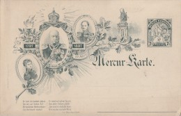 Mercur-Karte 1897 Nicht Gelaufen Ansehen !!!!!!!!!!!!!!!!!! - Privatpost