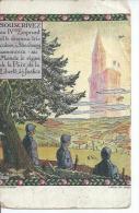 SOUSCRIVEZ AU IVème EMPRUNT Et Le DRAPEAU TRICOLORE A Strasbourg... ( Déssin: HANSI  ) - Hansi