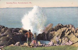 Maine Kennebunkport Spouting Rock