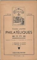 8 - Grandes Journées Philatéliques De SPA - 1956 - Livret 32 Feuillets Numérotés De 4 à 29- - Unclassified