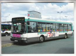 BUS & AUTOCARS : Autobus AGORA S N° 2726 De La RATP Au MIN De RUNGIS 94 ( 2005 ) CPM GF - Val De Marne - Autobus & Pullman