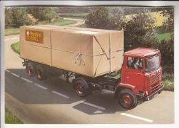 CAMIONS & POIDS LOURDS  : Camion De La ROYAL MAIL ( British Parcel Post ) Poste Anglaise - CPM 1987 - England - Camion, Tir