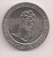 MONEDA 200PESETAS 1994 LAS MENINAS - Spanien