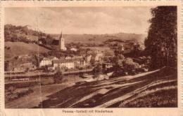 ALTE AK  PASSAU / Bayern  - Ilzstadt Mit Niederhaus -  Ca. 1926 - Passau
